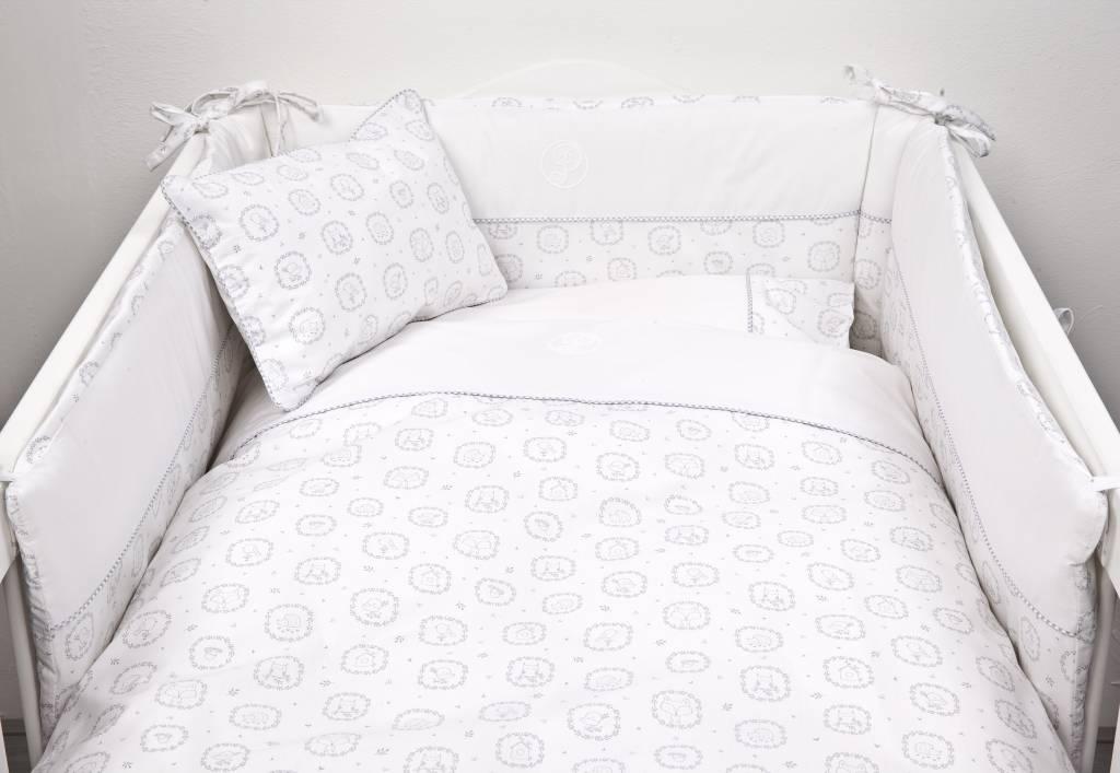 Duvet Cover (100x140cm) & Pillow case Little Forest Grey-3