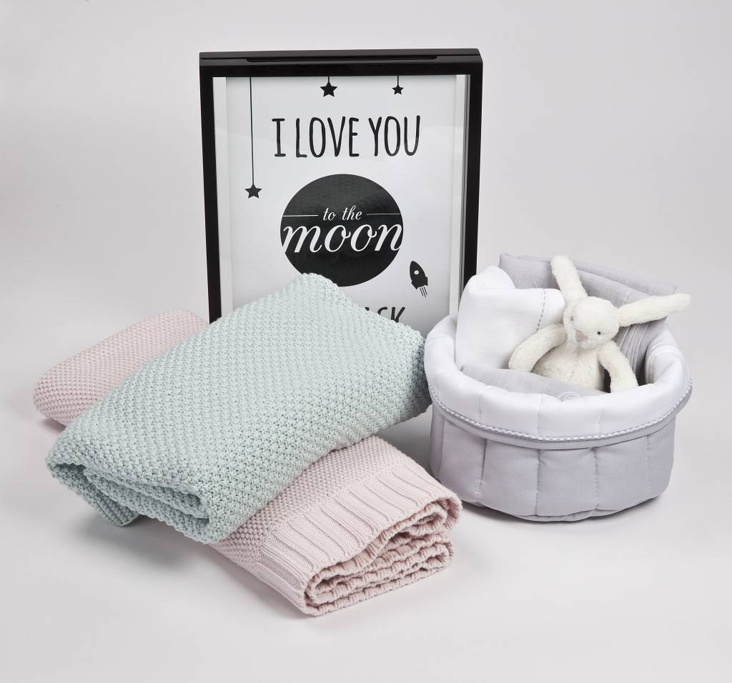 Care basket Oxford Grey-2