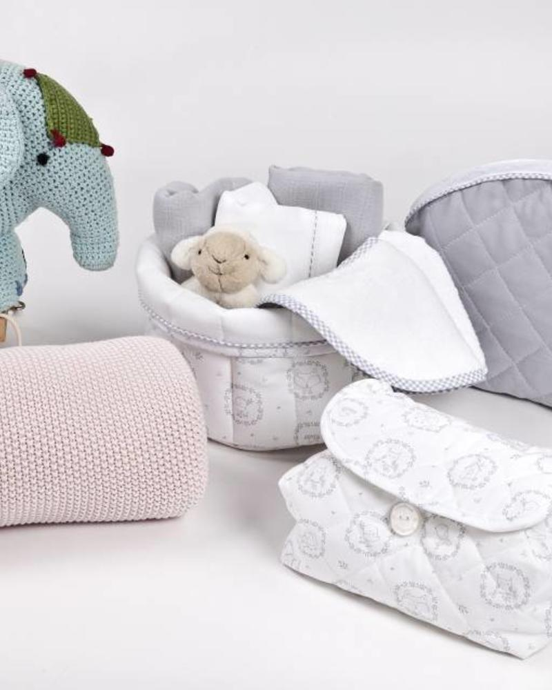 Baby wipes cover Little Forest Grey