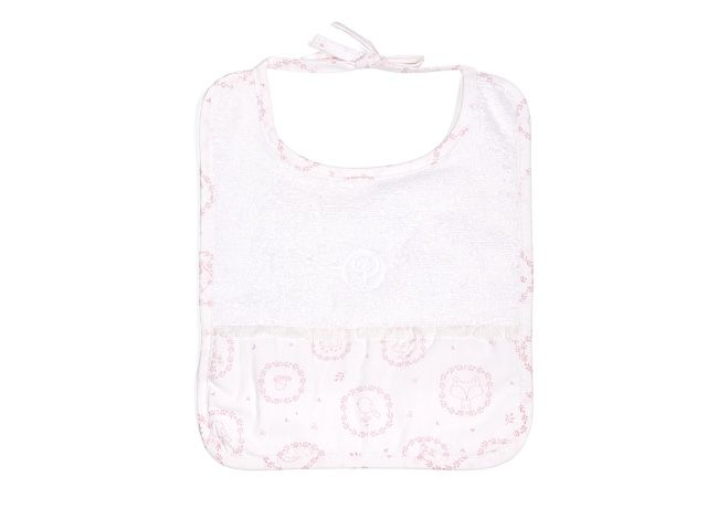 Bavoirs Little Forest Pink-3