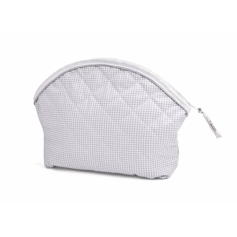 Toiletry bag Oxford Grey check-1