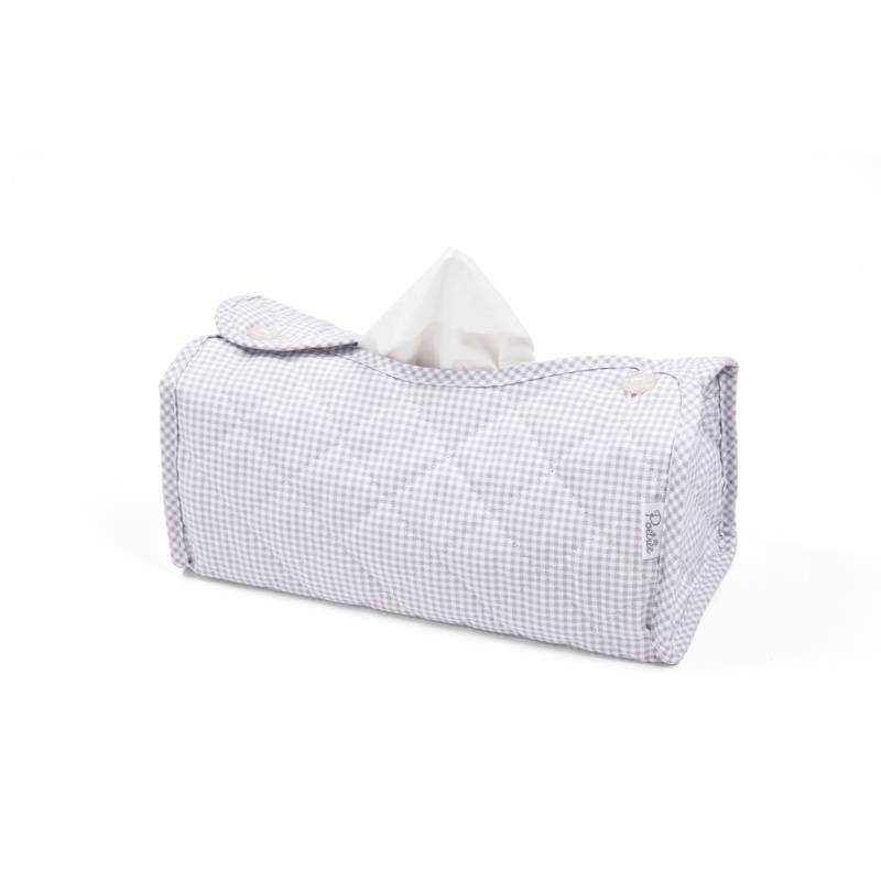 Tissue box hoes Oxford Grey-1