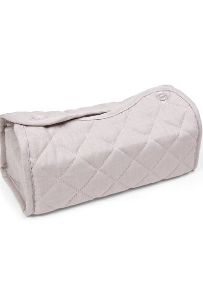 Tissue box hoes Oxford Taupe