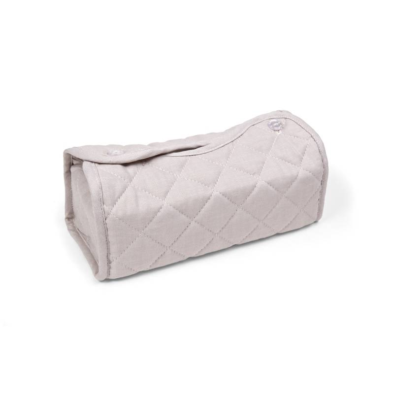 Kleenex Box Cover Oxford Taupe-1
