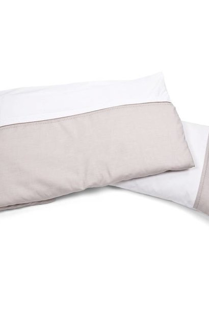 Duvet Cover & Pillow case Oxford Taupe