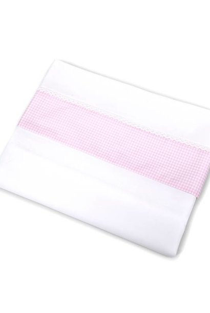 Crib sheet & half fitted sheet Charlotte