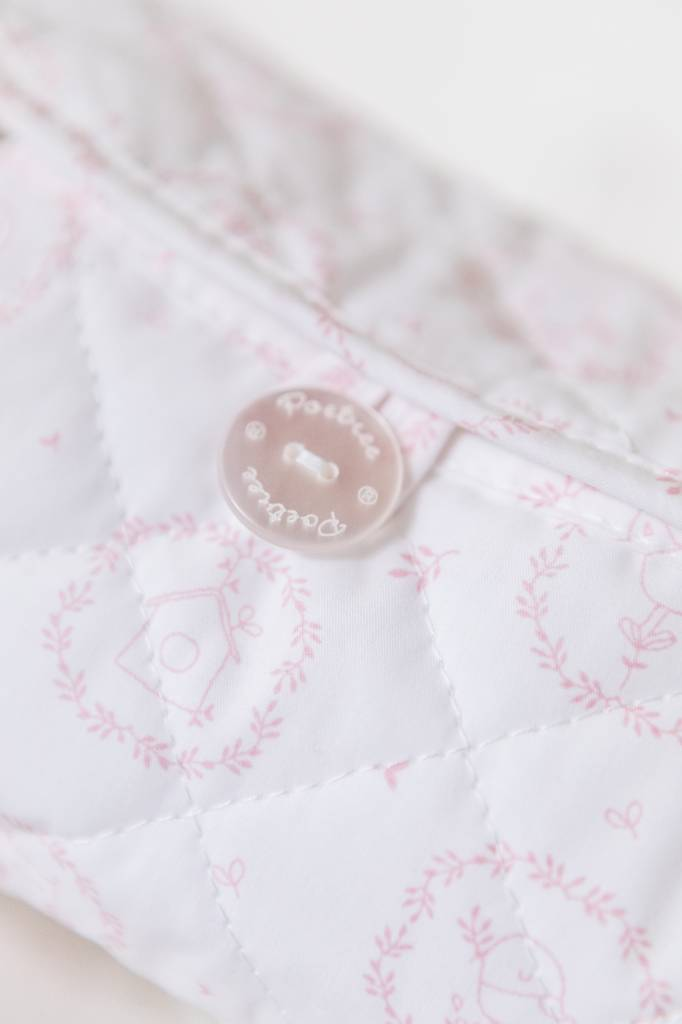 Baby wipes cover Little Forest Pink-2