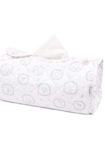 Kleenex box cover Little Forest Grey