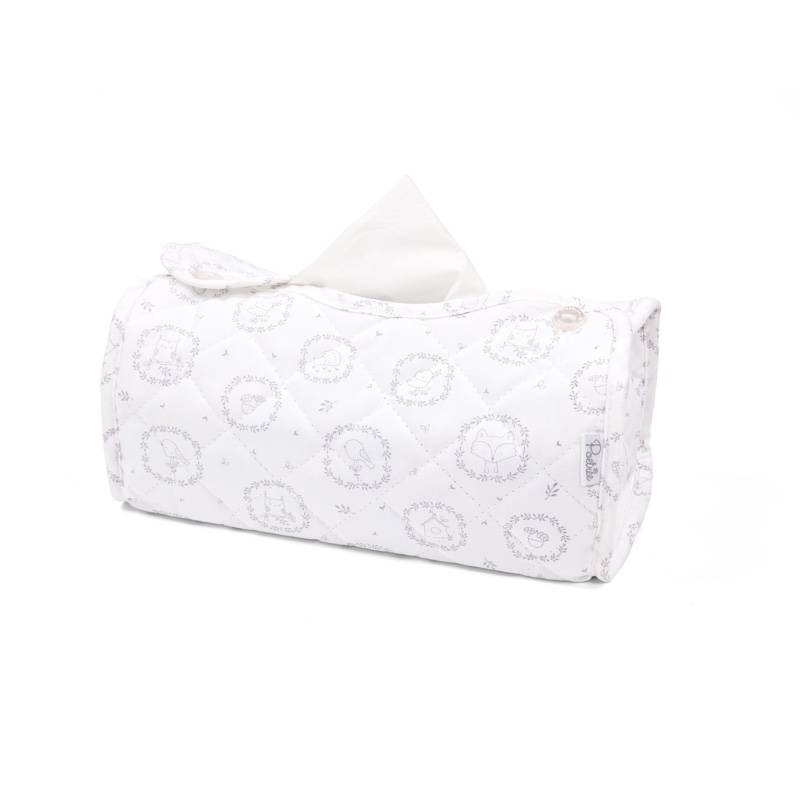 Tissue box hoes Little Forest Grey-1