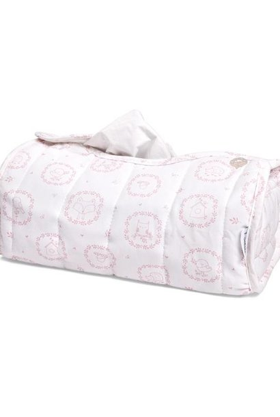 Tissue box hoes Little Forest Pink