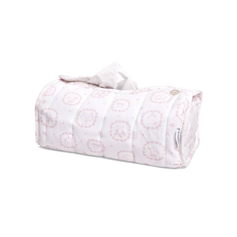 Kleenex Box Cover Little Forest Pink-1