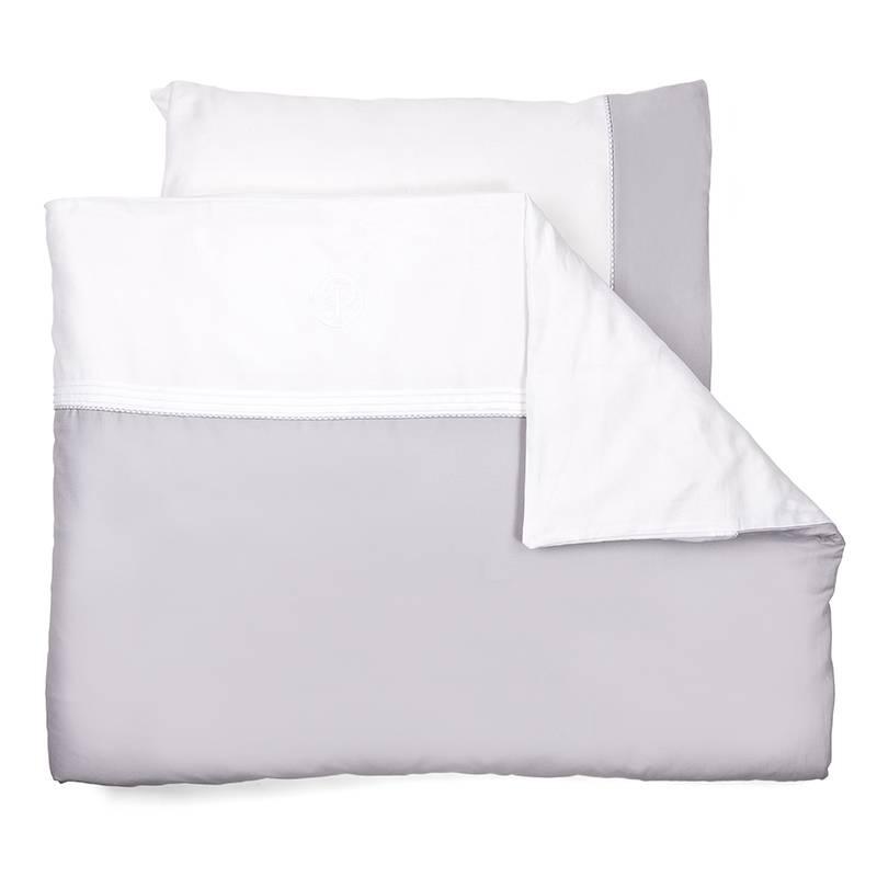Duvet Cover & Pillow case Oxford Grey-1