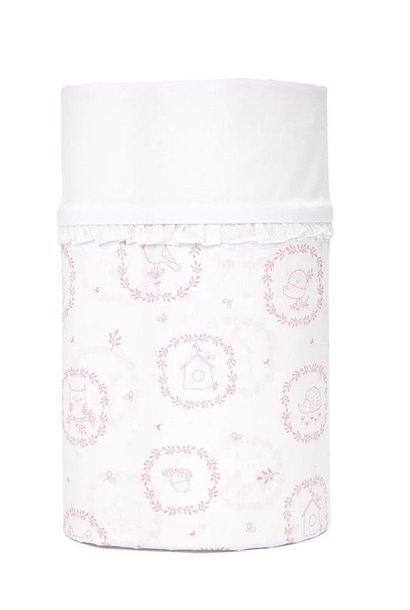 Drap de lit bébé Little Forest Pink