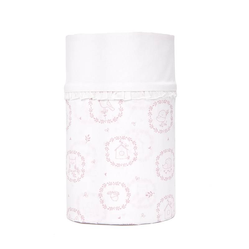 Drap de lit bébé Little Forest Pink-1