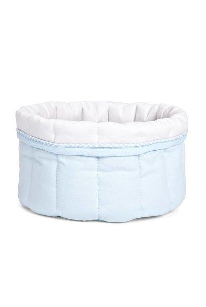 Care basket Oxford Blue