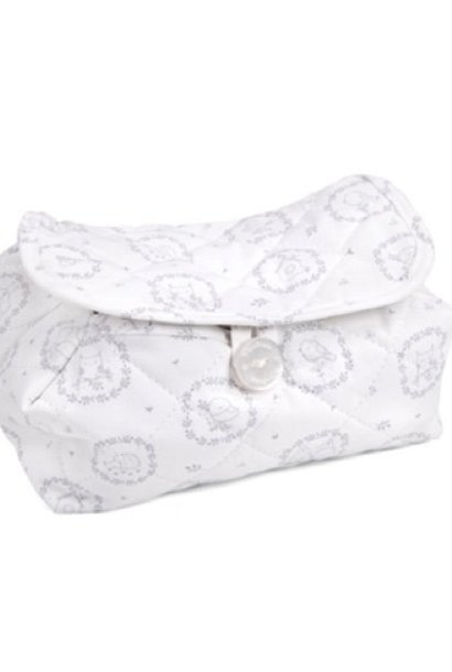 Baby wipes cover Litte Forest Grey