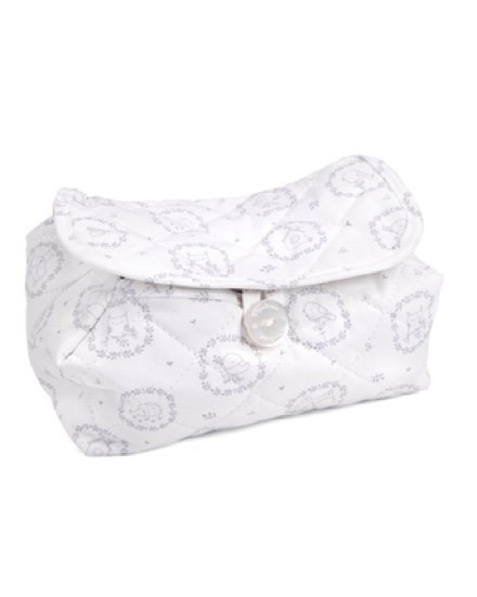 Baby wipes cover Little Forest Grey-1