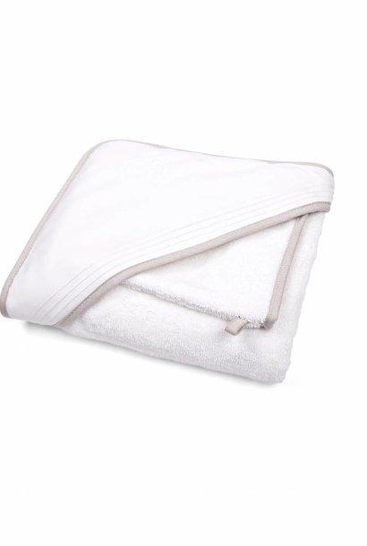 Hooded towel & washcloth