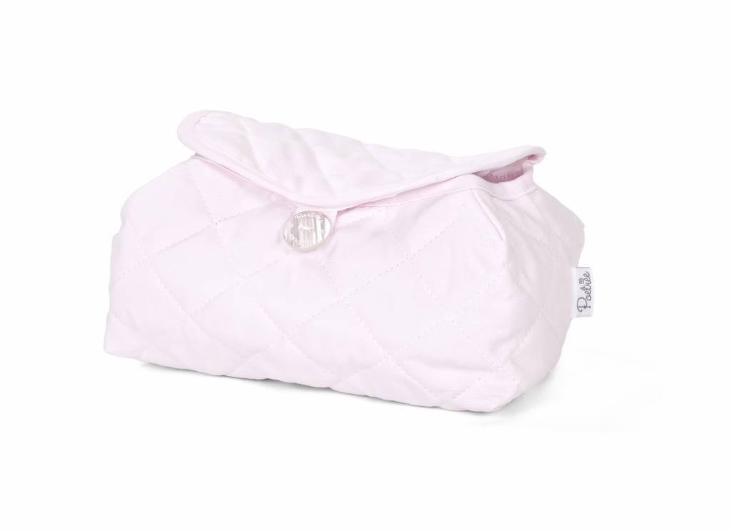 Housse de lingettes pour bébé Oxford Soft Pink-2