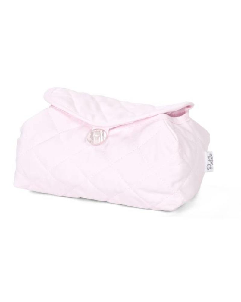 Baby wipes cover Oxford Soft Pink