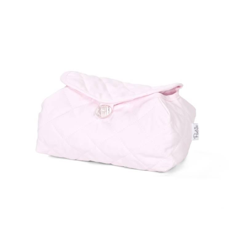 Housse de lingettes pour bébé Oxford Soft Pink-1