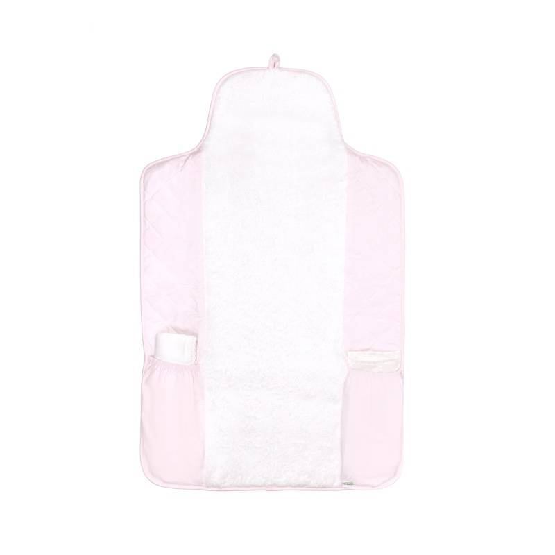Portable changing mat Oxford Soft Pink-1