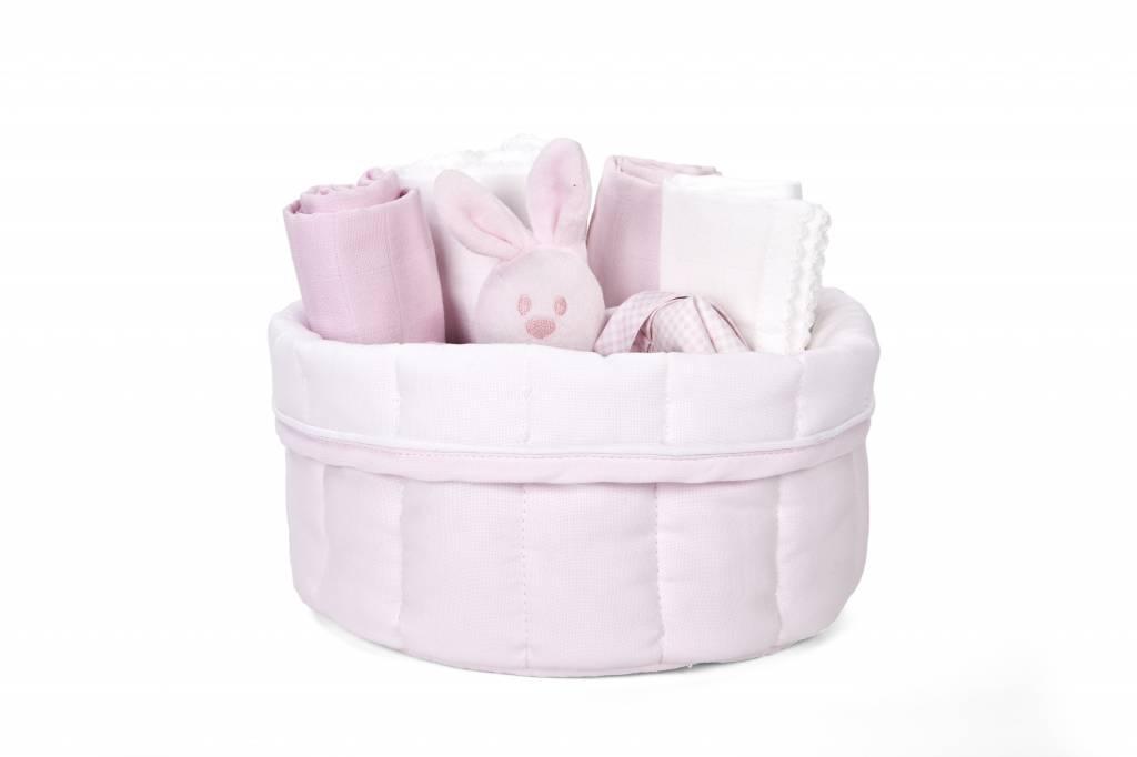 Commodemandje Oxford Soft Pink-2