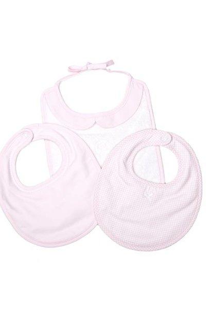 Bib set Oxford Soft Pink