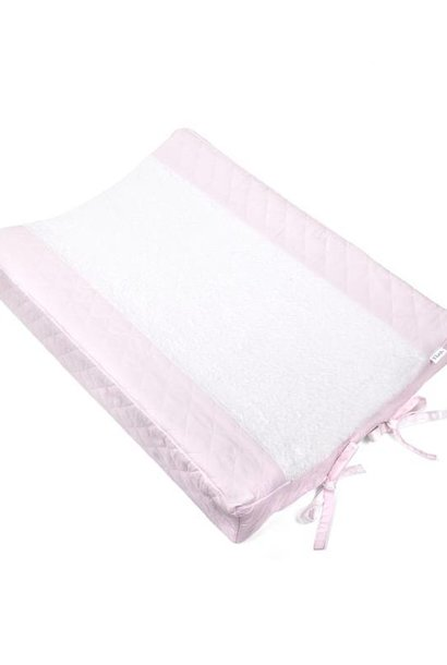 Changing mat cover Oxford Soft Pink