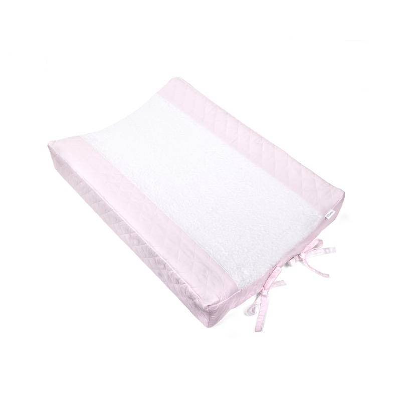 Aankleedkussenhoes Oxford Soft Pink-1