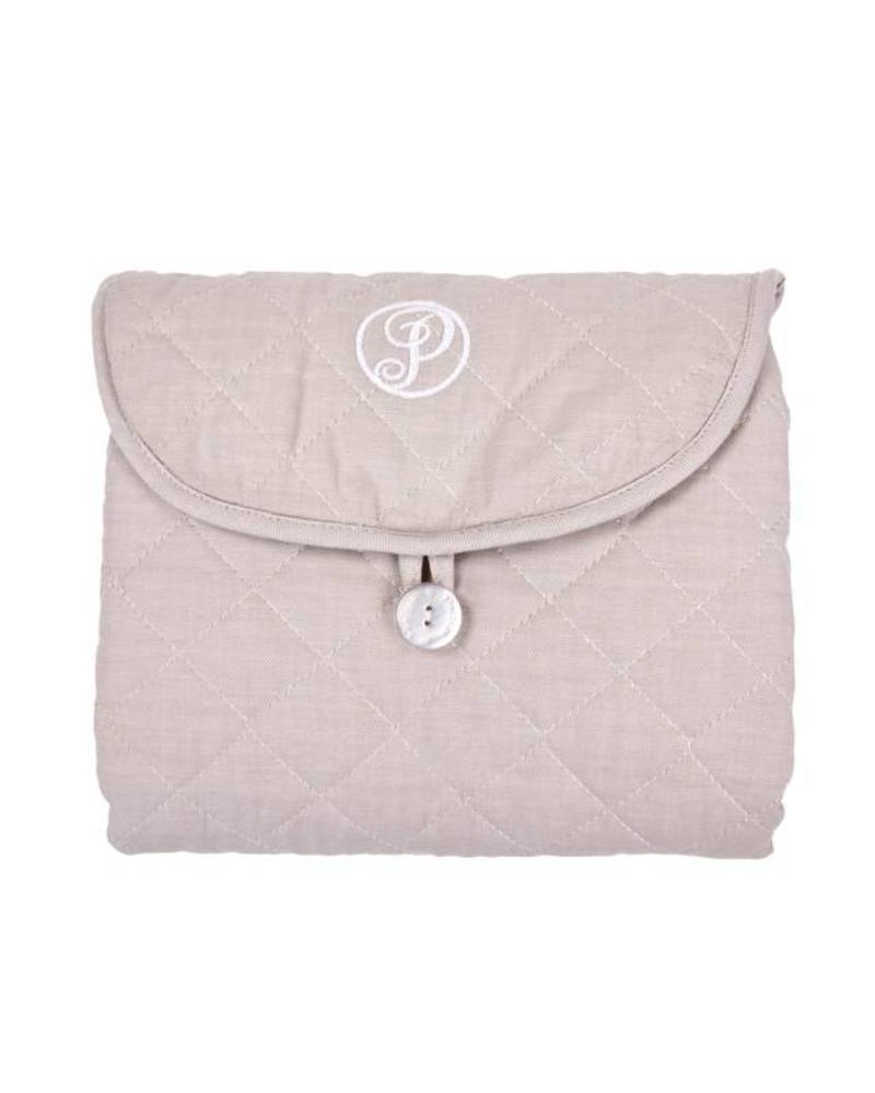 Portable changingmat Oxford Taupe