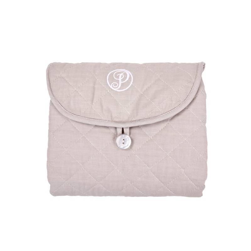 Portable changingmat Oxford Taupe-2