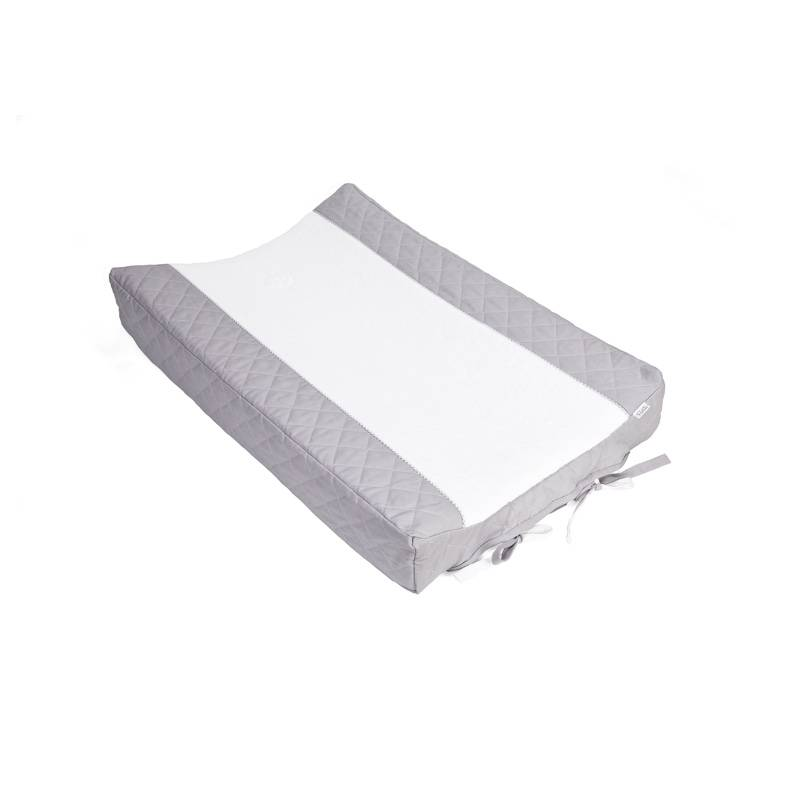 Changing mat cover Oxford Grey-1