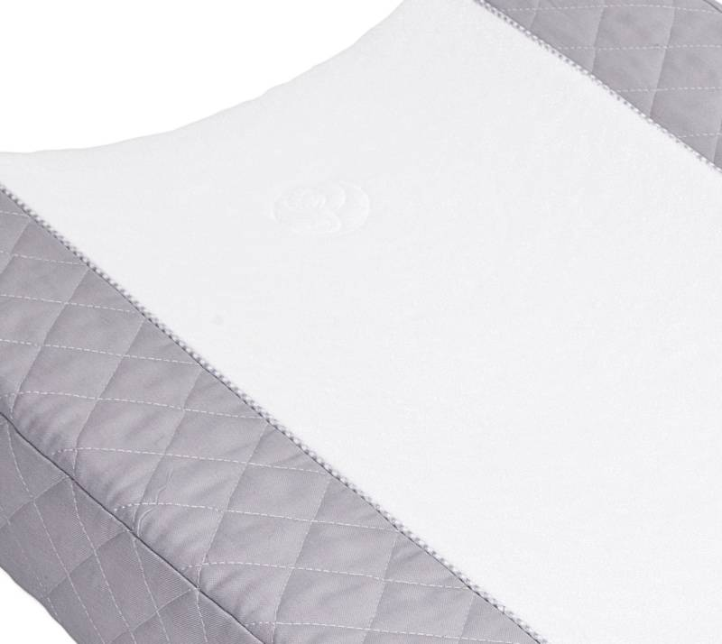Changing mat cover Oxford Grey-2