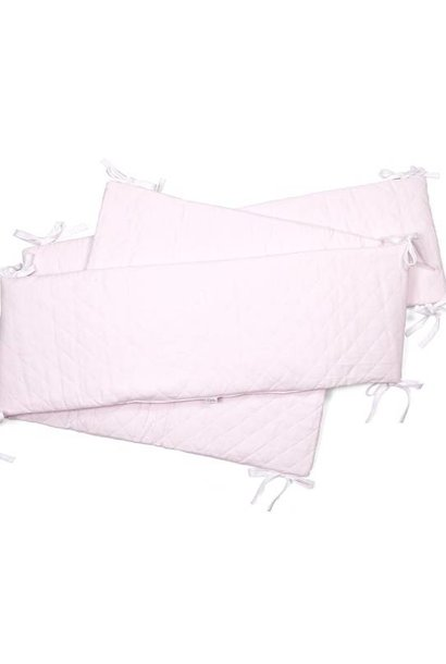 Playpen bumper Oxford Soft Pink