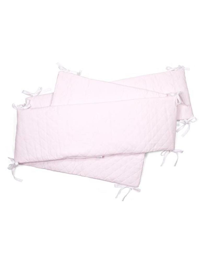 Playpen bumper Oxford Soft Pink