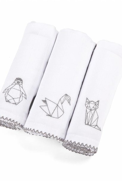 Hydrophilic cloths