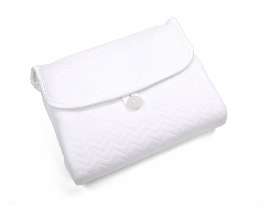 Portable changingmat Chevron White-2