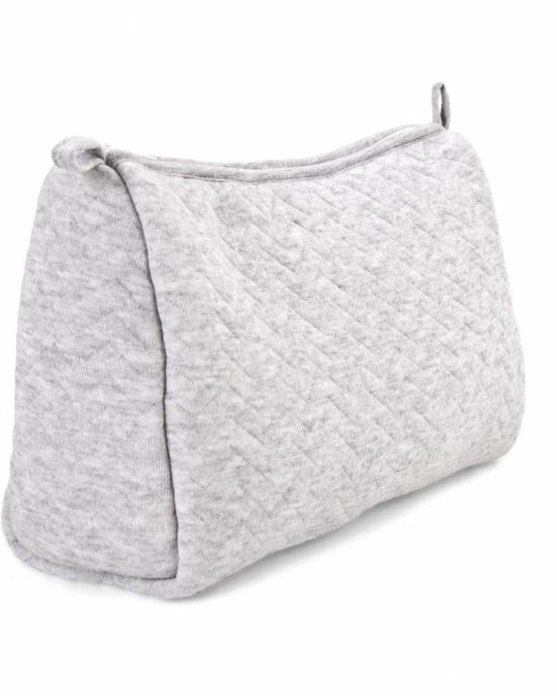 Toiletry bag Chevron Light Grey Melange