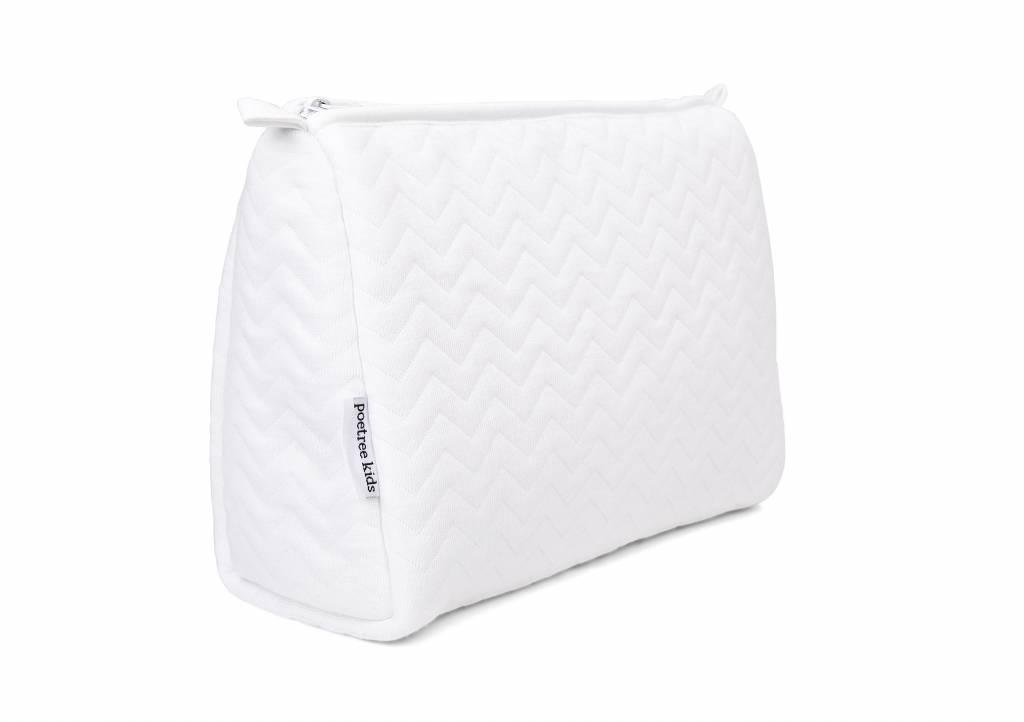 Toiletry bag Chevron White-2