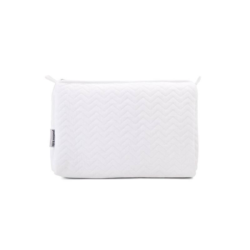 Toiletry bag Chevron White-1