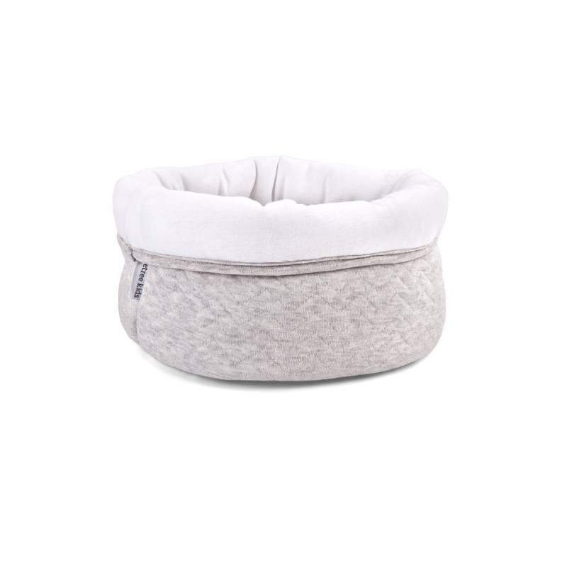 Care basket Chevron Light Grey Melange-1