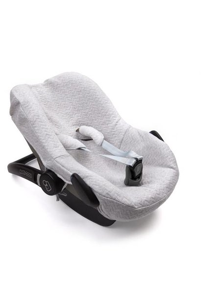 Maxi cosi Autostoelhoes Chevron Light Grey Melange