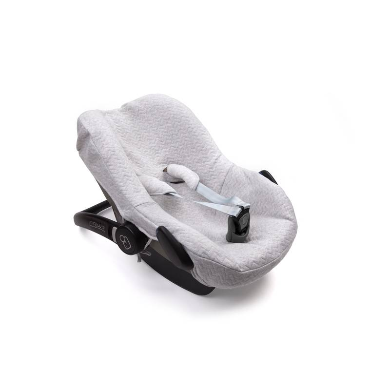 Maxi cosi Autostoelhoes Chevron Light Grey Melange-1