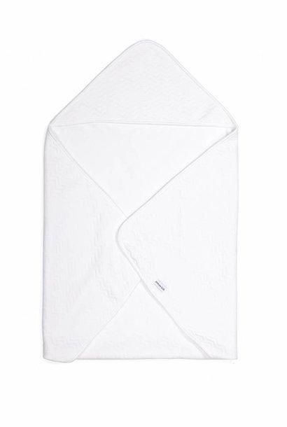 Couverture enveloppante Chevron White