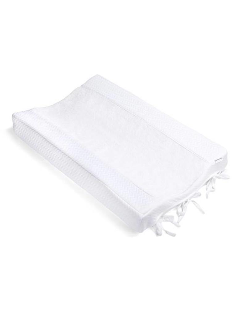 Changing mat cover Chevron White