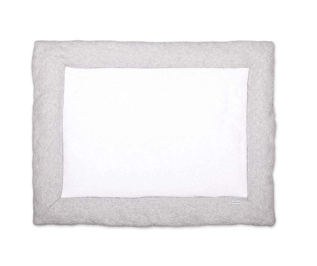 Playpen mat Chevron Light Grey Melange-2