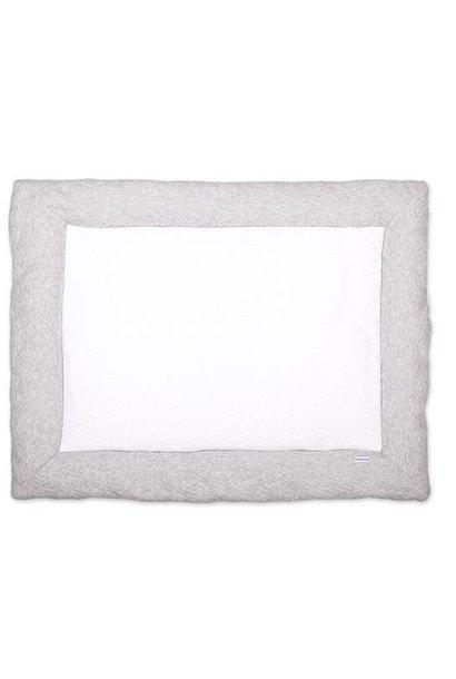Playpen mat Chevron Light Grey Melange