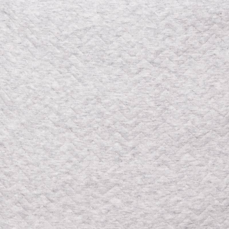Wikkeldeken Chevron Light Grey Melange-3