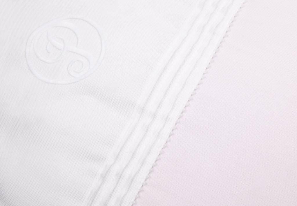 Dekbedovertrek & kussensloop Oxford Soft Pink-3
